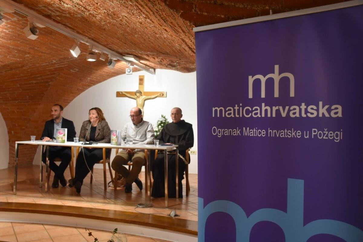 Predstavljen jedinstveni sonetni ružarij Marija Rozića pod nazivom ʺKroz trnje i cvijećeʺ