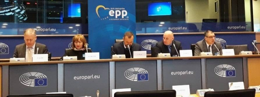 Branko Grgić ispred PSŽ prisustvovao konferenciji Europskog parlamenta o razminiranju