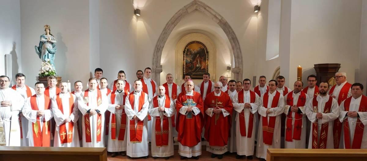 Duhovne vježbe svećenika Požeške biskupije u Velikoj