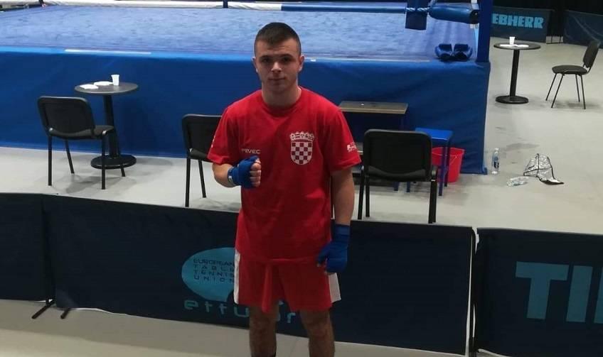 Požeški boksač Ilija Marijanović nastupio za reprezentaciju