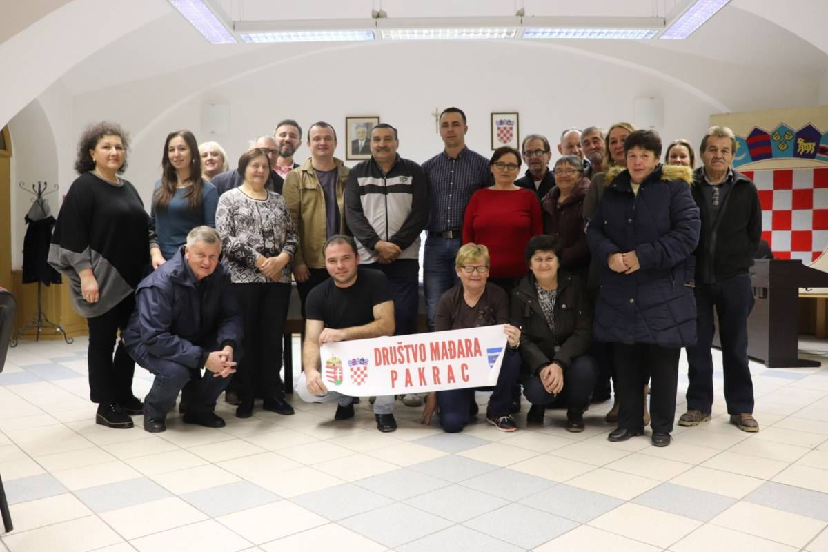 Društvo Mađara Pakrac aktivno promiče i čuva identitet mađarske nacionalne manjine ovog kraja