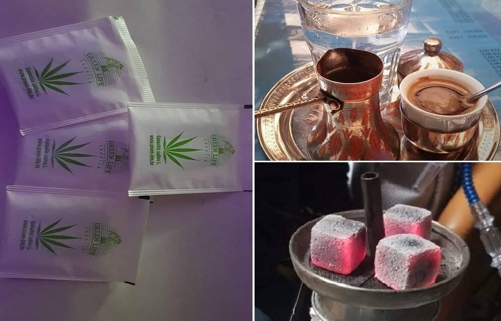 Brodski Club u kojem možete uživati u nargili, čaju od cannabisa, pravoj ispečenoj bosanskoj kahvi...