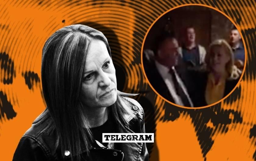 Predsjednica je 2017. bila u Slavoniji i žena nasilnog župana molila je da ju primi. Nije ju primila, a ovo je video tog posjeta