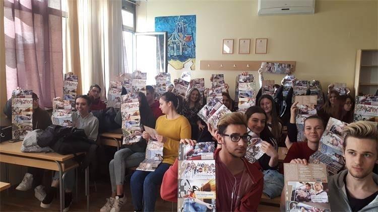 Učenicima požeških srednjih škola održano predavanje o sigurnom sudjelovanju u prometu
