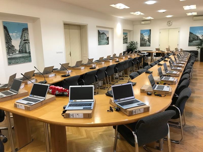 Digitalizacija rada gradskih vijećnika; kreću e-sjednice Gradskog vijeća