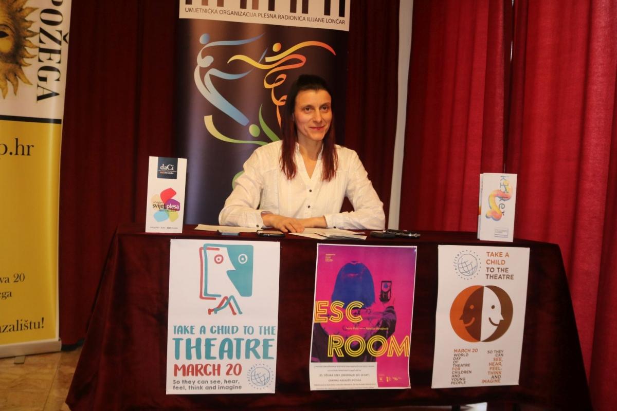 Ilijana Lončar predstavila projekt ʺ Svi na plesnu predstavuʺ