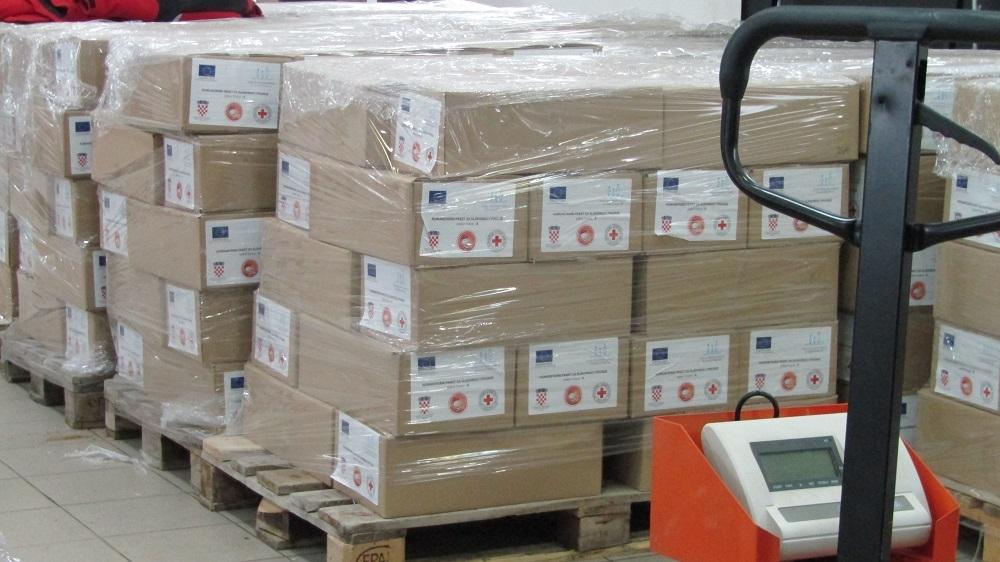 Podjela paketa najpotrebitijim građanima općine Sibinj