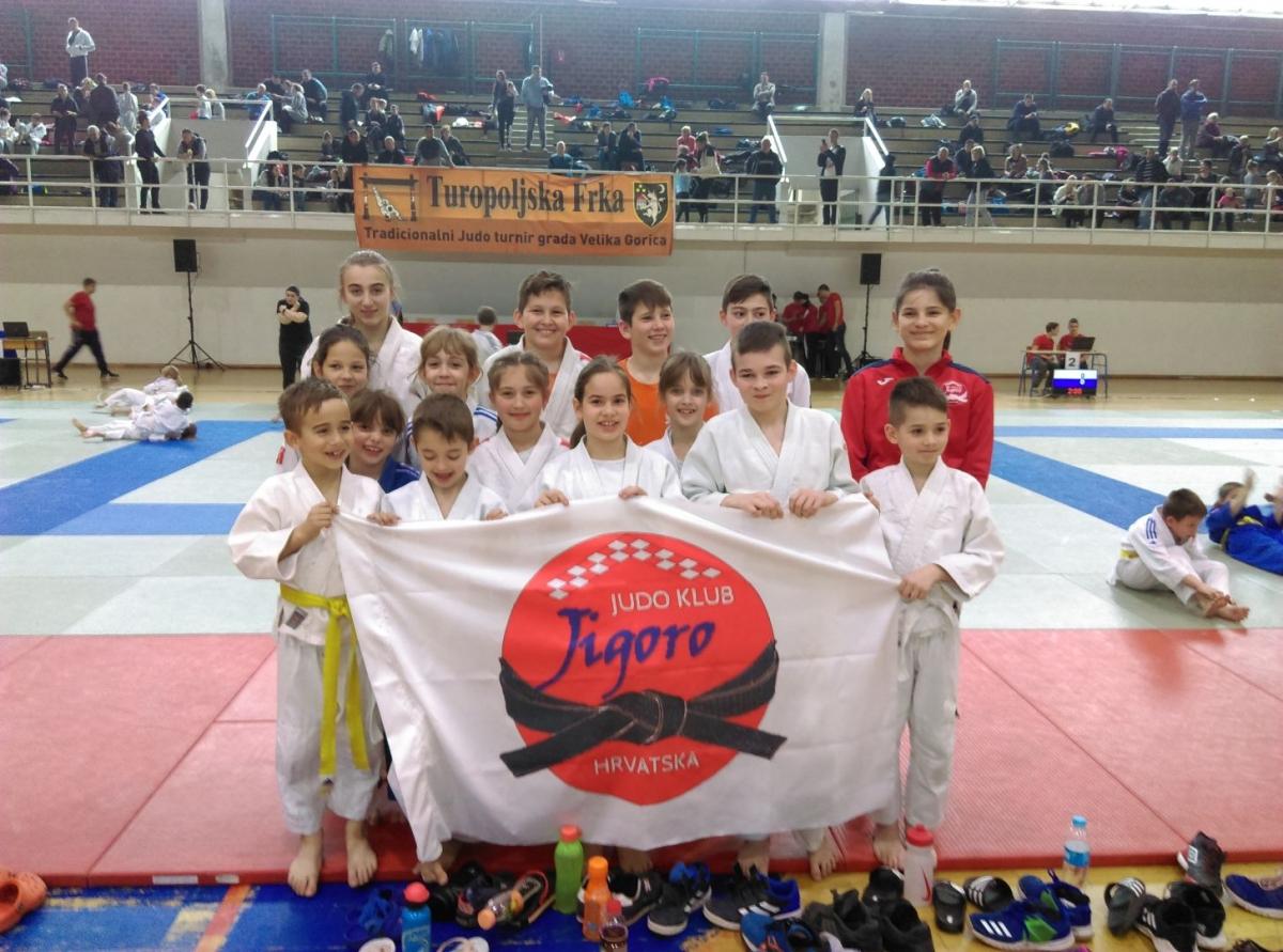 Judo klub Jigoro uspješan na Međunarodnom turniru u Velikoj Gorici