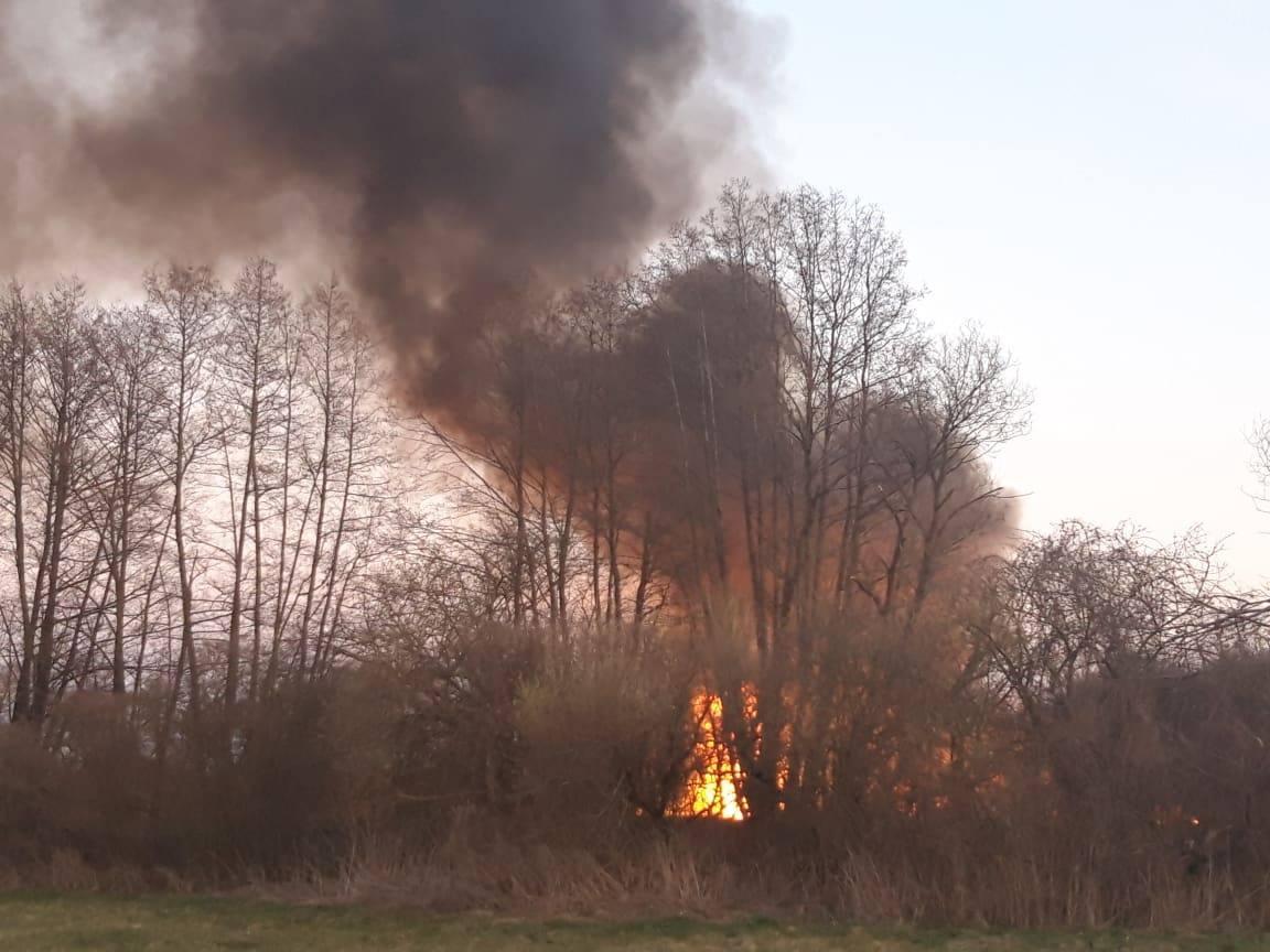 Požar na otvorenom između Gradskih i Crkvenih Vrhovaca, vjetar otežava gašenje