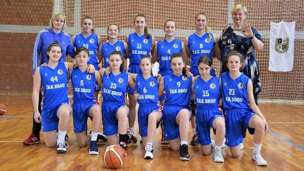 Sokolović, Novak i Sudar nove nade ženske košarke u Slavonskom Brodu