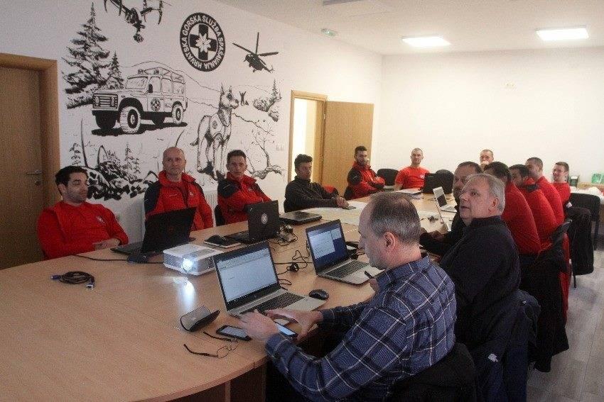 HGSS Požega domaćin tečaja Odjela bespilotnih sustava