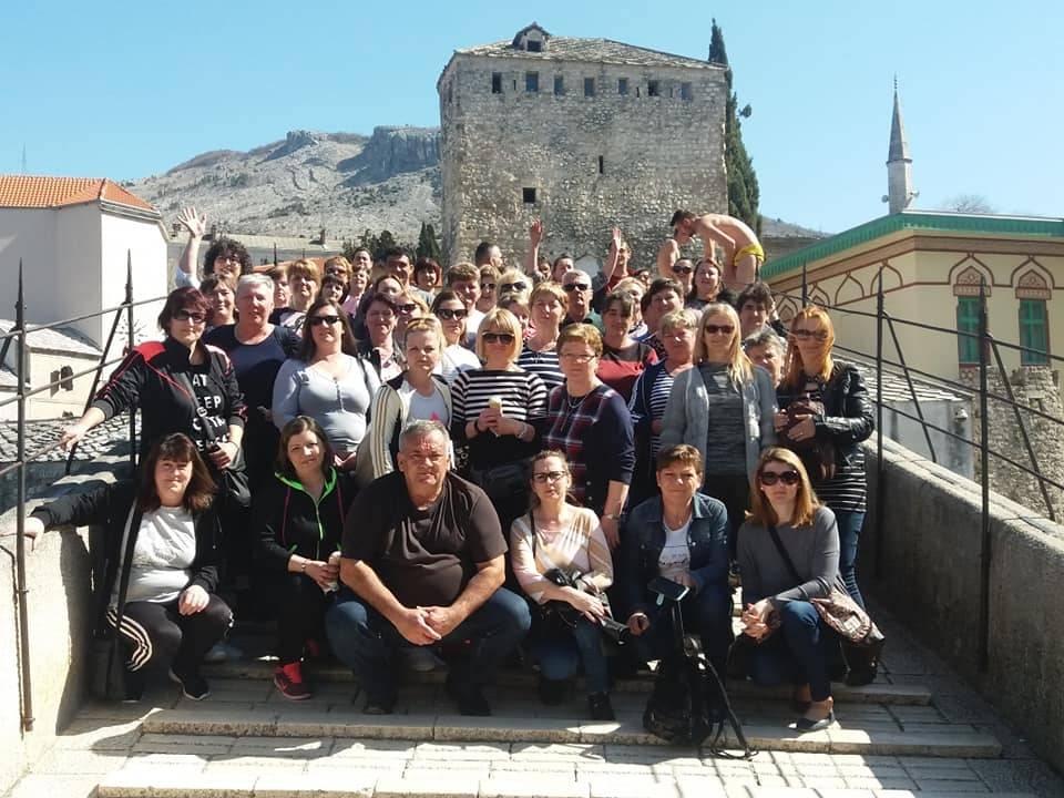Članovi udruge Veličanka na dvodnevnom putovanju u Međugorje, Stolac i Mostar