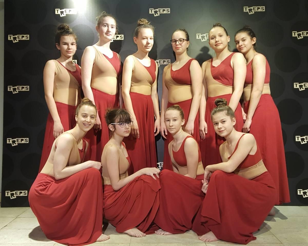 UO Plesna radionica Ilijane Lončar zaslužila prolaz u finale 16. Susreta plesnih grupa TREPS