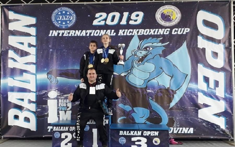 Tri zlata za brodske Tigrove na ʺBalkan open 2019.ʺ