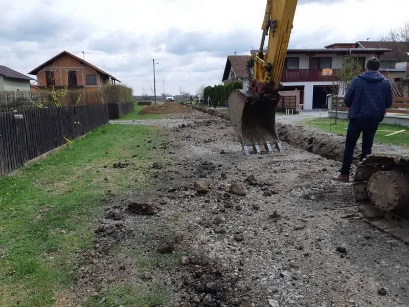 Započeli radovi na izgradnji kanalizacije i ceste na spoju Ulice 30. svibnja 1990. i Šubićeve ulice