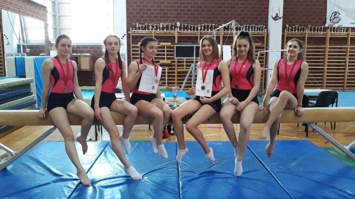 Gimnastičarke GD Sokol odlične na Kupu Hrvatske i Međunarodnom turniru