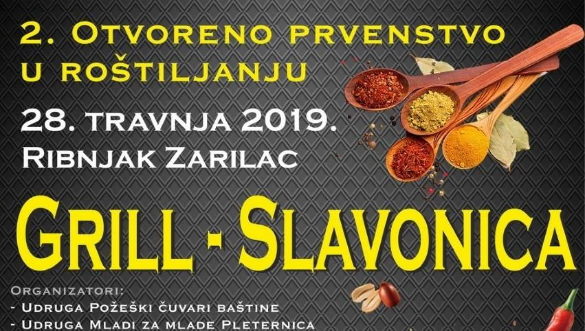 """2.Otvoreno prvenstvo u roštiljanju ʺGrill Slavonica"""" na izletištu i ribnjaku u Zarilcu"""