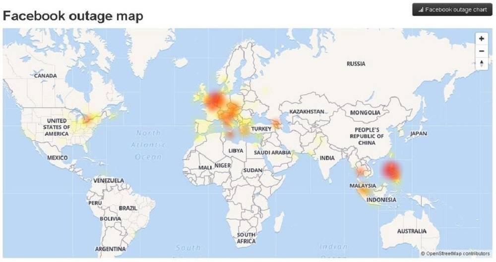 Srušili se Facebook, Instagram i WhatsApp - u cijelom svijetu!