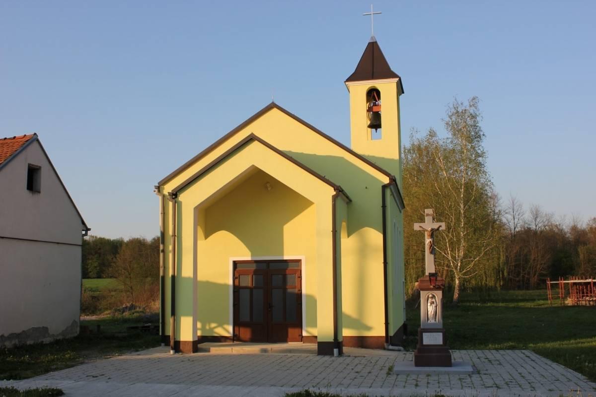 Završena obnova kapelice Presvetog Srca Isusova u Dobrovcu