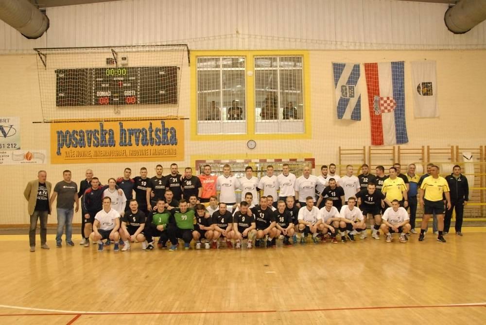 Za koga- za Robija, tim je riječima započela dobrotvorna utakmica rukometaša Broda i selekcije Slavonije i Baranje
