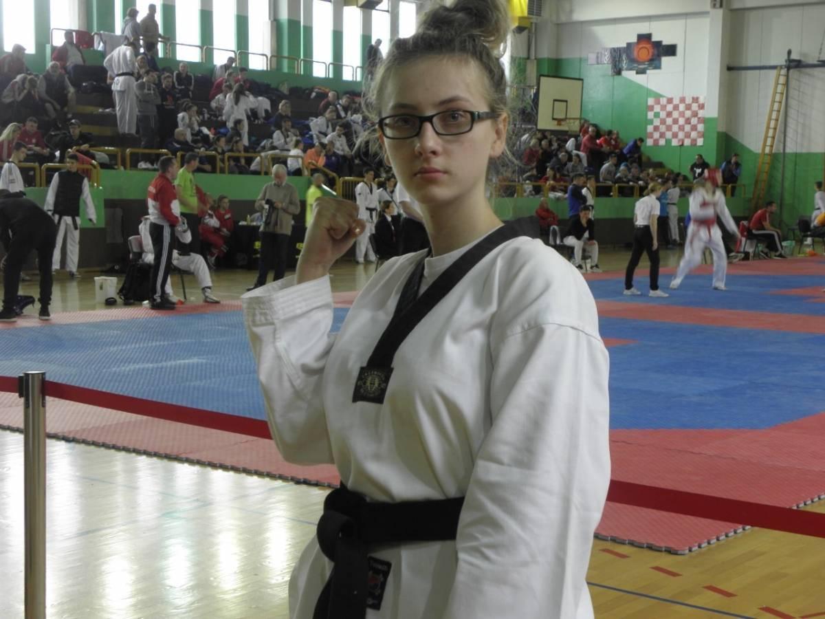 Veličanka Monika Jelić nastupila na seniorskom prvenstvu Hrvatske u Samoboru