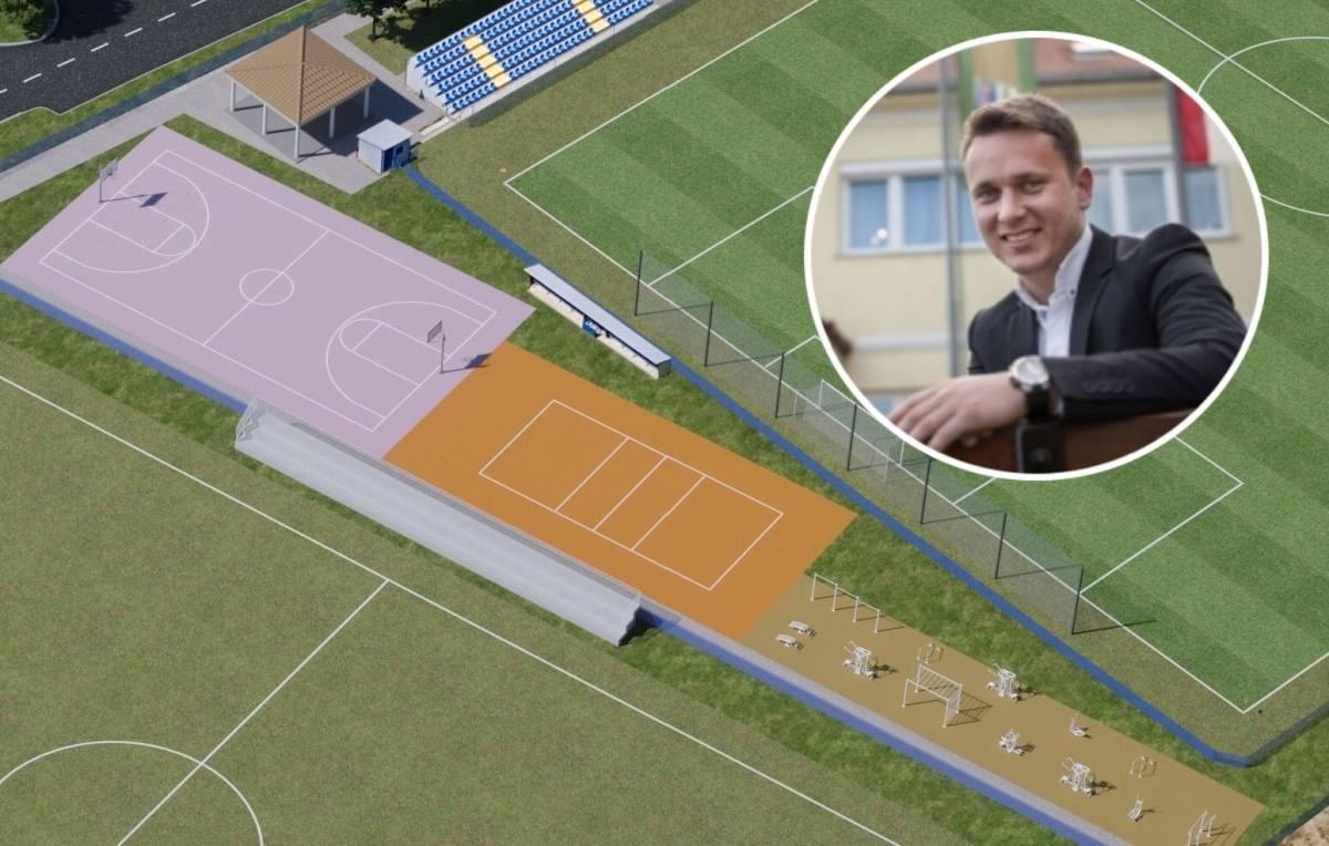 Još jedan uspjeh gradonačelnika Josipa Budimira: Novi projekt Grada Kutjeva - izgradnja sportskih terena za košarku i odbojku