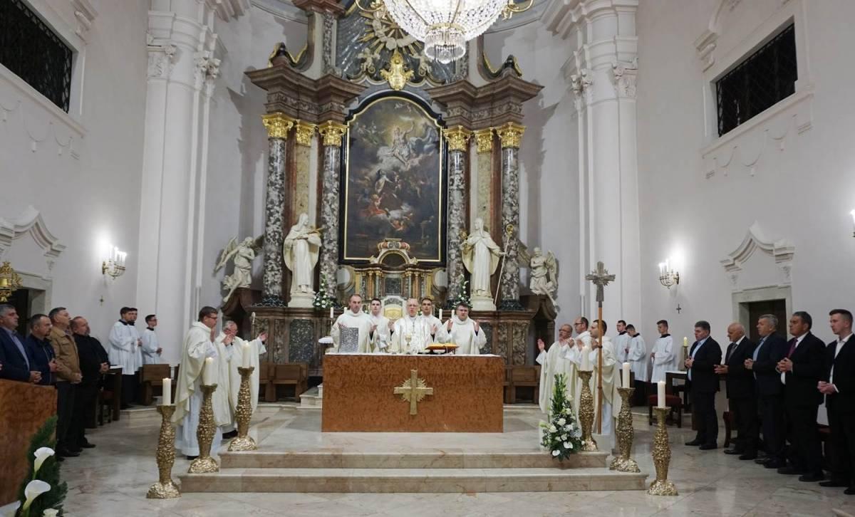 Misa večere Gospodnje u požeškoj Katedrali
