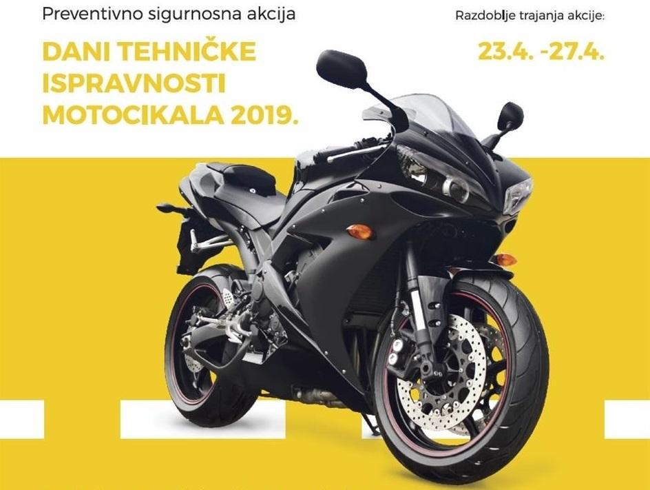 Dani tehničke ispravnosti motocikala 2019.