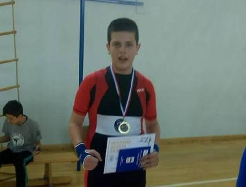 Mladi Brođanin prvak Hrvatske u savate boksu
