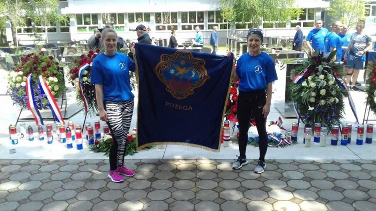 Marijana Švajda i Tanja Lašak sudjelovale na memorijalnom maratonu u Okučanima