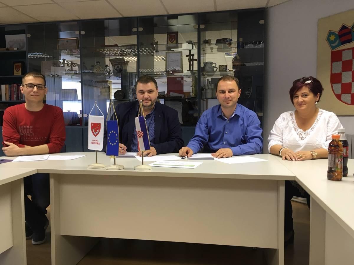 Općina Velika potpisala je sporazum o partnerstvu s Općinskom samoupravom Martince u Mađarskoj