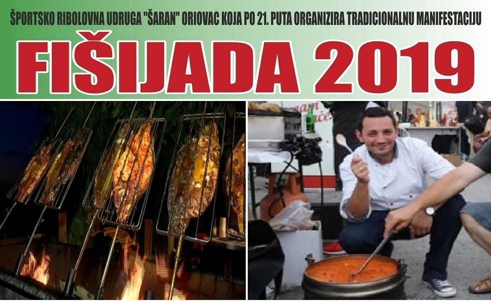 Članovi udruge Šaran iz Oriovca, Vas pozivaju na 21. tradicionalnu Fišijadu