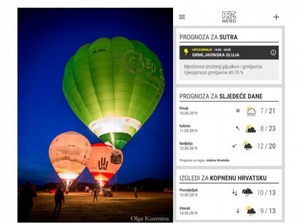 Ponovo odgođen let balonom u Park šumi Jankovac