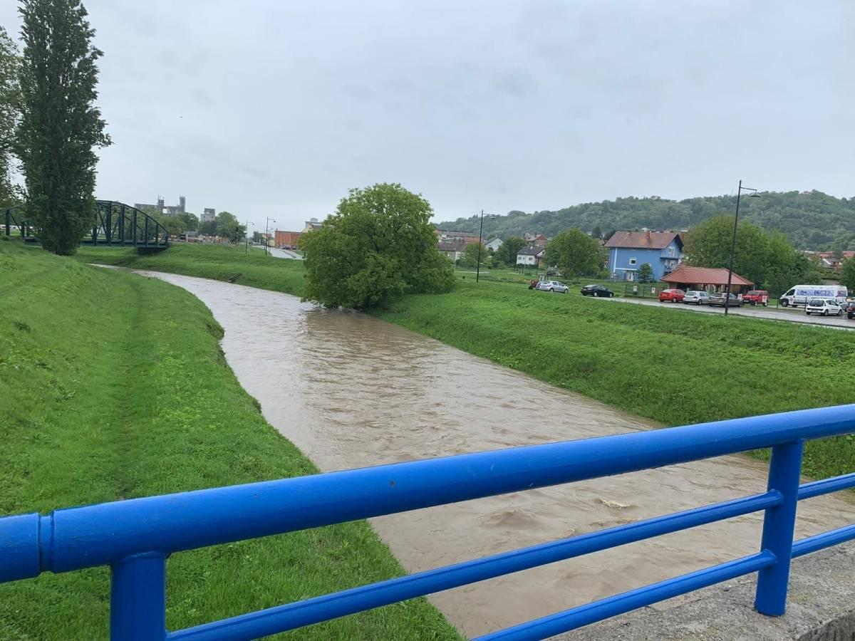 Orljava u Požegi je 83 cm, opasnosti od poplava nema, hoće li tako i ostati !?