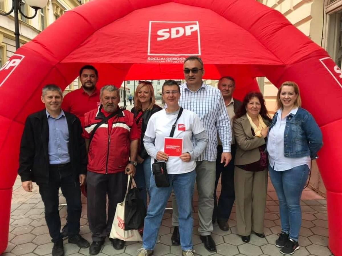 SDP Požega predstavio postignuća i poziva građane da izađu na izbore