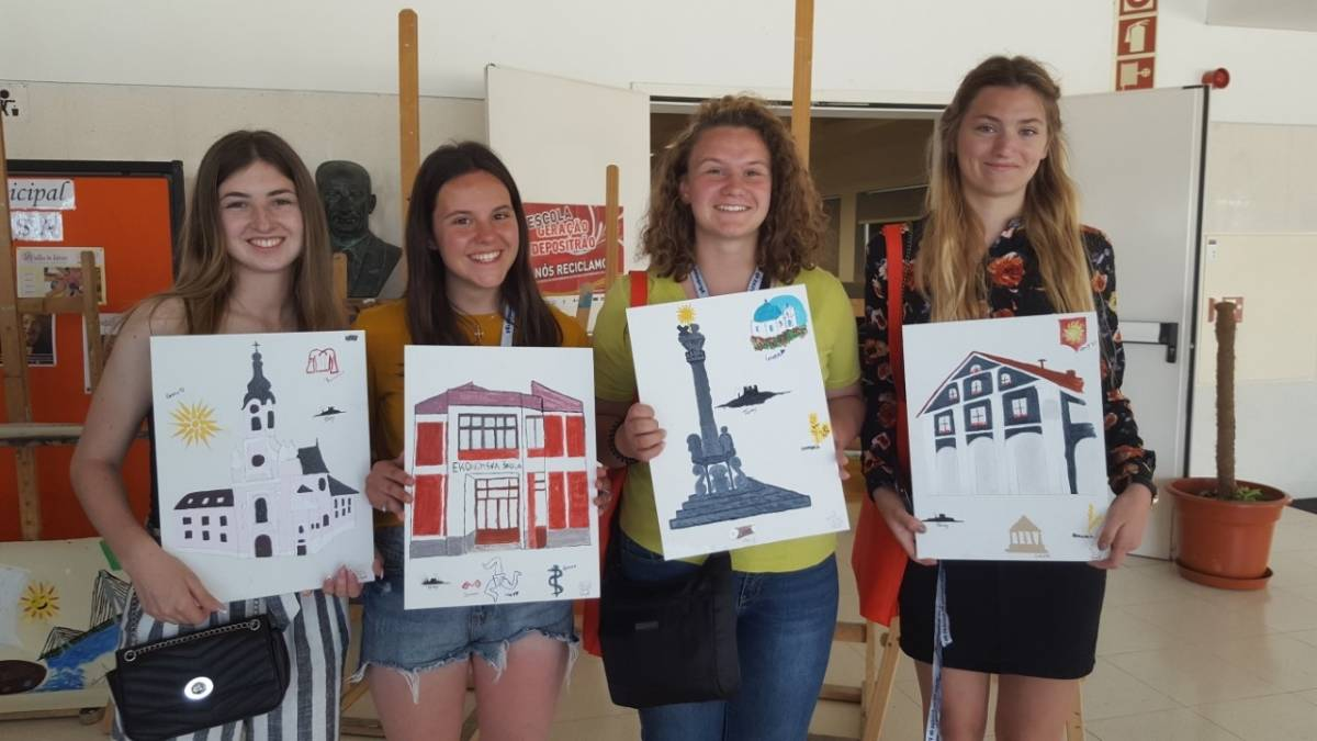 Učenice Ekonomske škole u sklopu mobilnosti na trećem sastanku u Portugalu