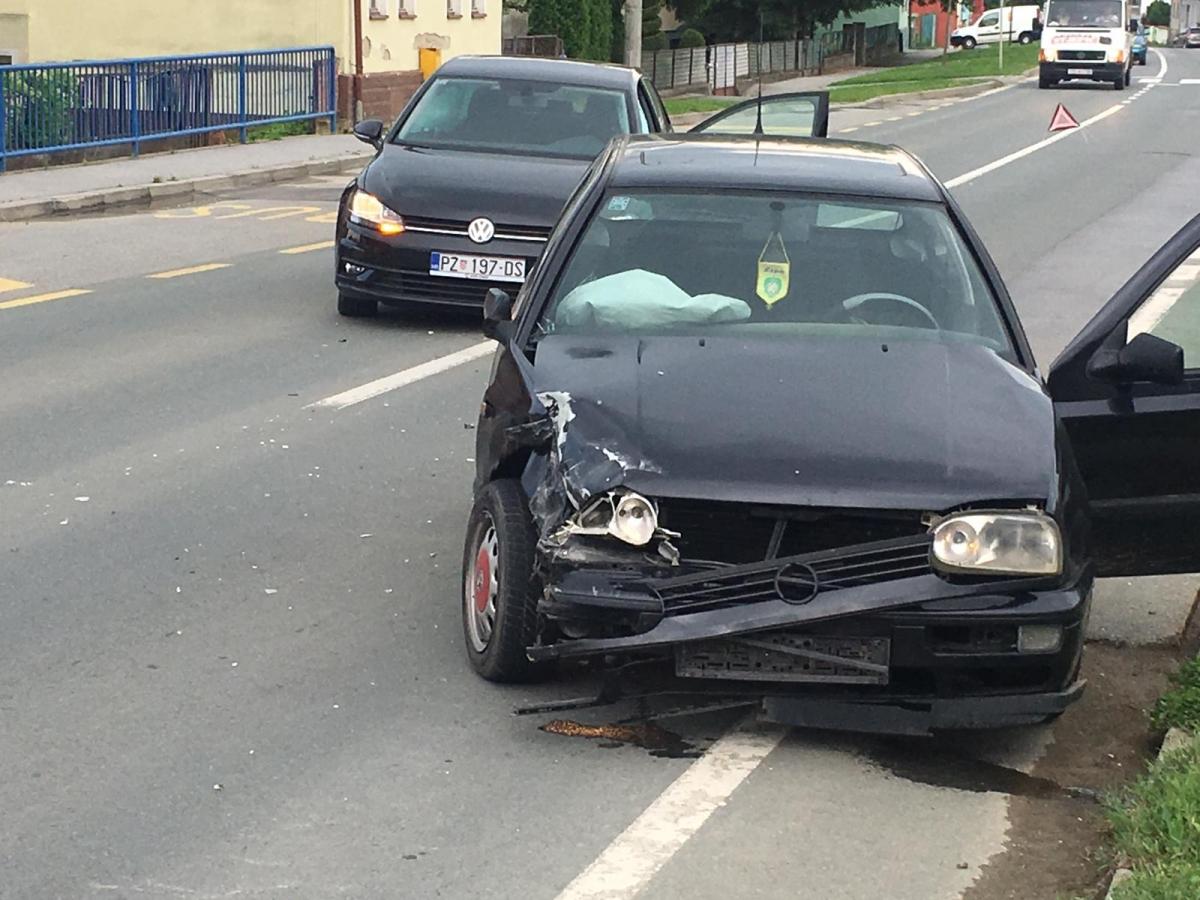 Prometna u Pleternici, nastala veća materijalna šteta