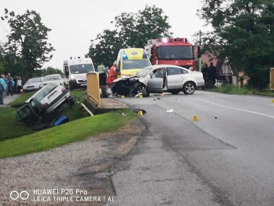 Teška prometna nesreća u Bartolovcima