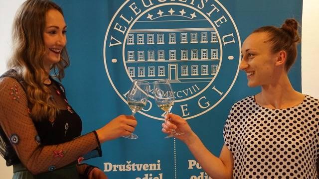 Studentice Matea i Ana osvojile 2. mjesto na Festivalu vina u Sloveniji