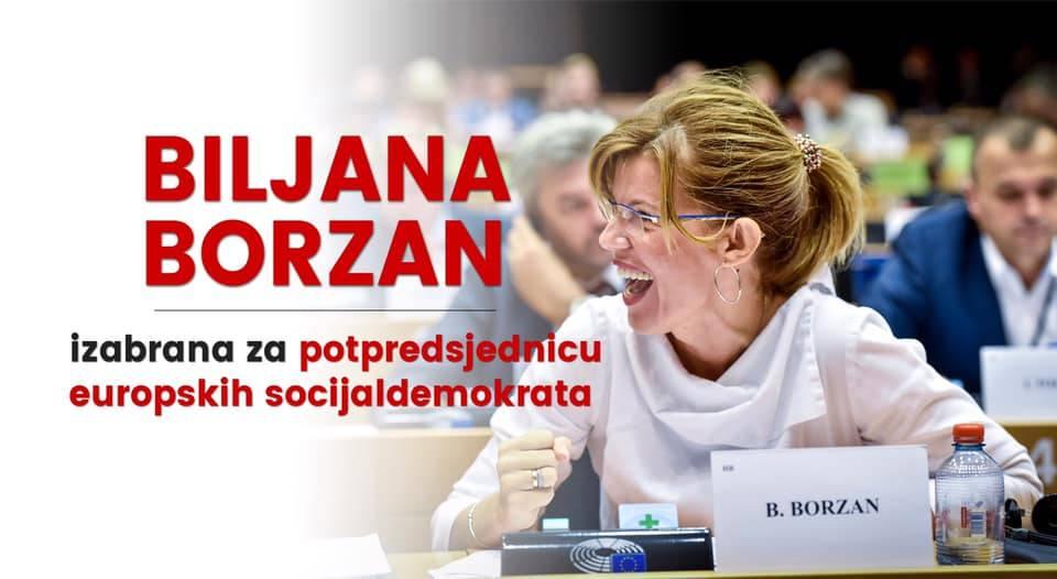 Biljana Borzan izabrana za potpredsjednicu europskih socijaldemokrata