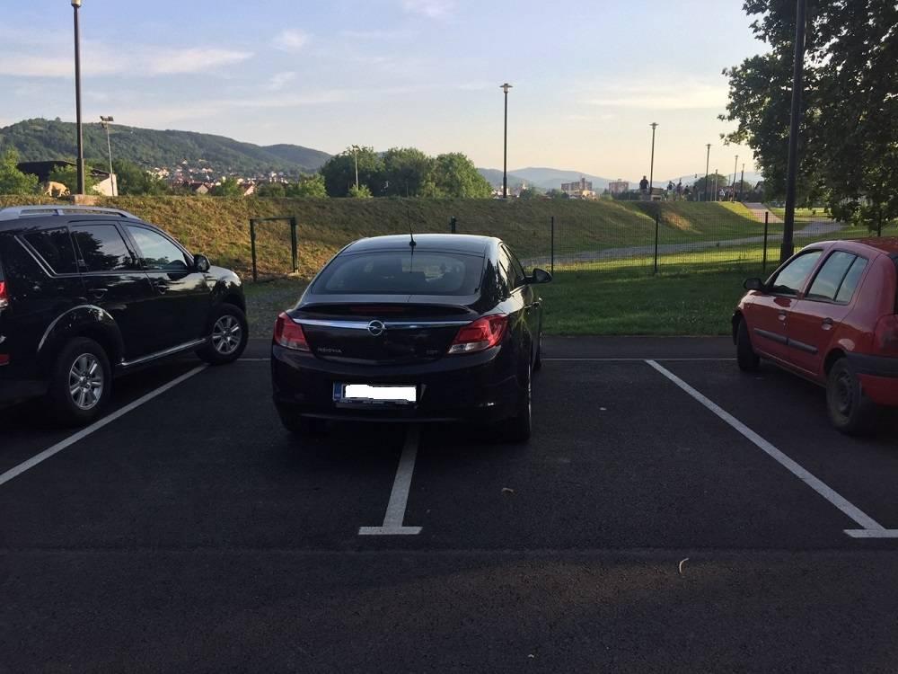 Sve je veća konkurencija među požeškim parking genijalcima