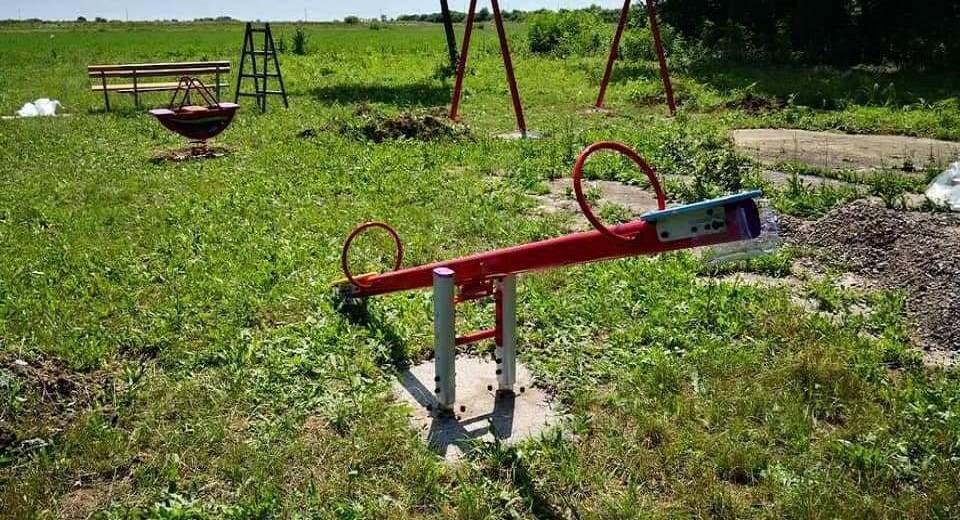 U tijeku je postavljanje novog dječjeg parka