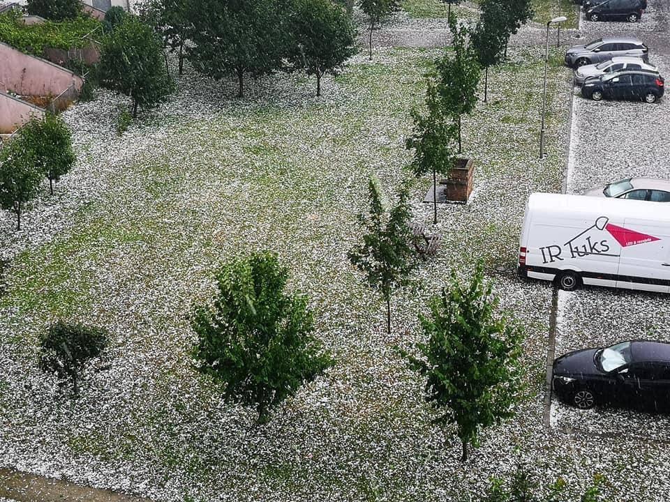 Nevrijeme zahvatilo Hrvatsku!! Nastradali Vukovar, Rijeka, Gorski kotar, Istra ...