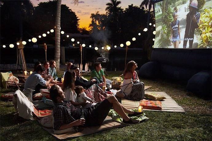 Po prvi put Ljetno kino u dvorištu kurije Janković u Pakracu