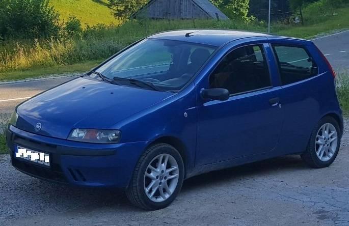 Vlasnica pronašla svoj otuđeni Fiat Punto