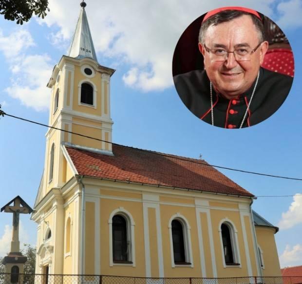 Kardinal Vinko Puljić, vrhbosanski nadbiskup, posjetit će Marino Selo