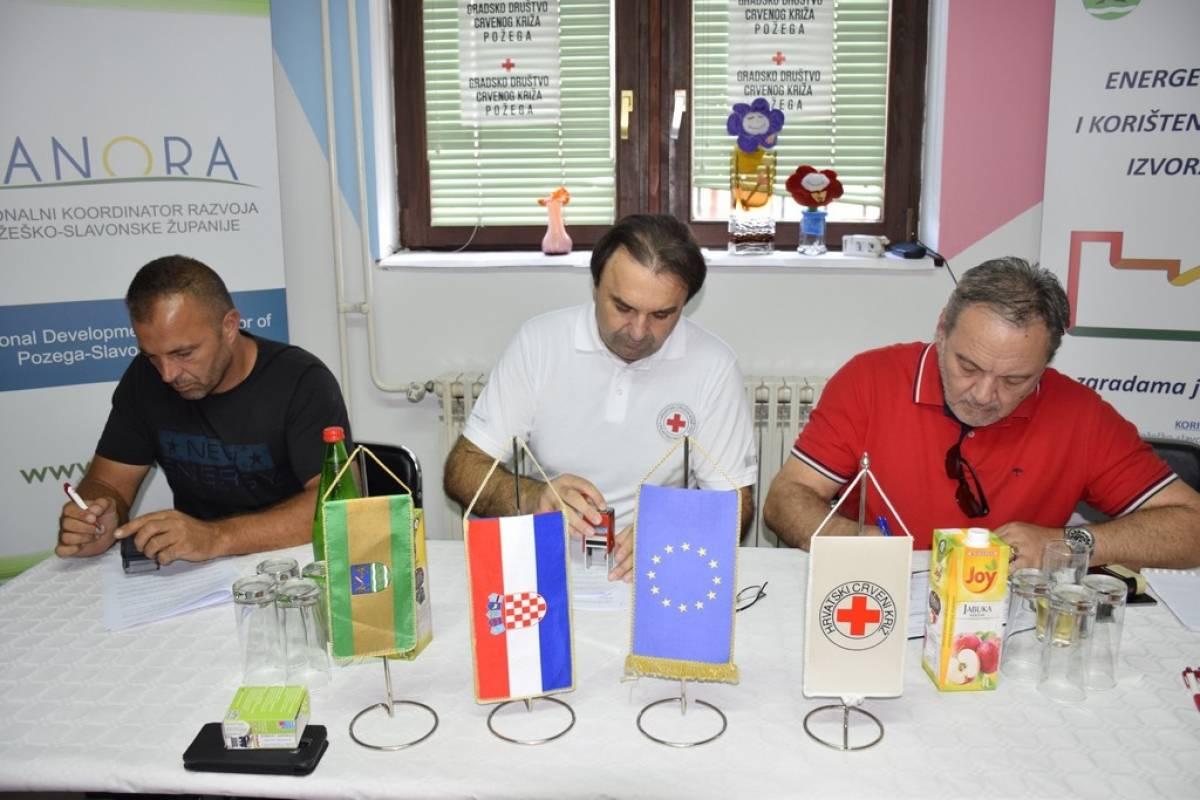 Započeo projekt energetske obnove zgrade Gradskog društva Crvenog križa u Požegi
