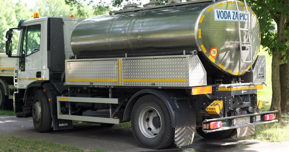 U Lipiku opskrba vodom bit će omogućena putem autocisterni koje će kružiti ulicama
