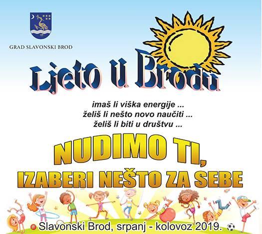 Ljetni program za djecu i mlade našega grada