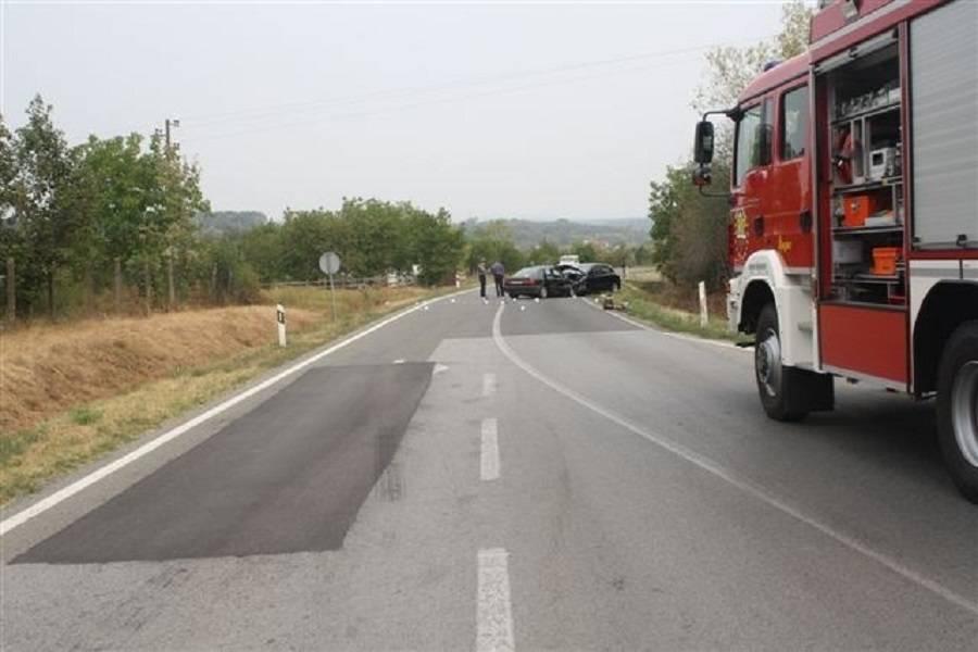 Na autocesti se zapalio osobni automobil i u potpunosti izgorio